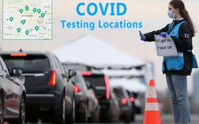 COVID testing locations in  Los Angeles