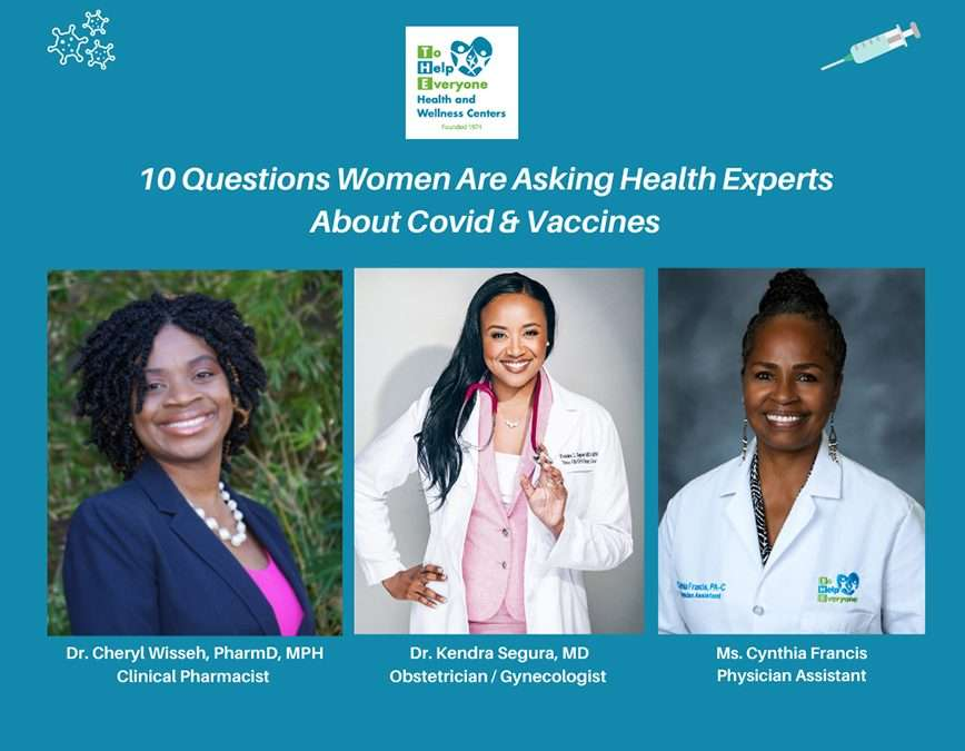 10 Questions Women Are Asking Health Experts About Covid Vaccines